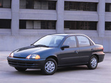 Pictures of Chevrolet Metro Sedan 1998–2001