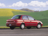 Chevrolet Metro Sedan 1998–2001 wallpapers