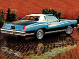 Chevrolet Monte Carlo Landau Coupe 1976 pictures