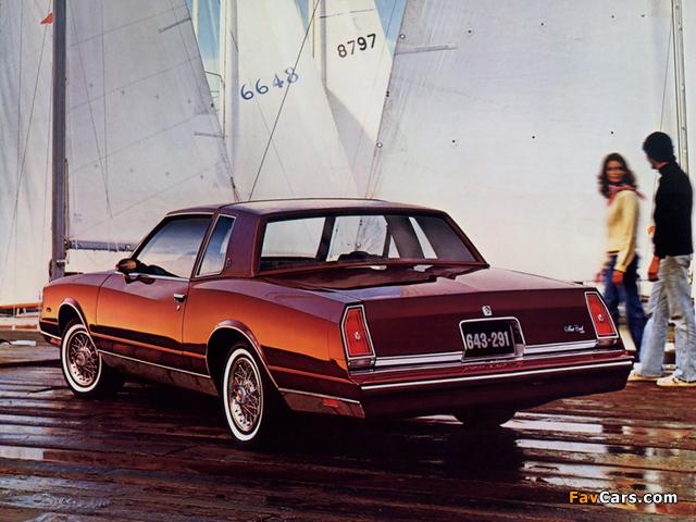 Chevrolet Monte Carlo 1981–85 images (640 x 480)