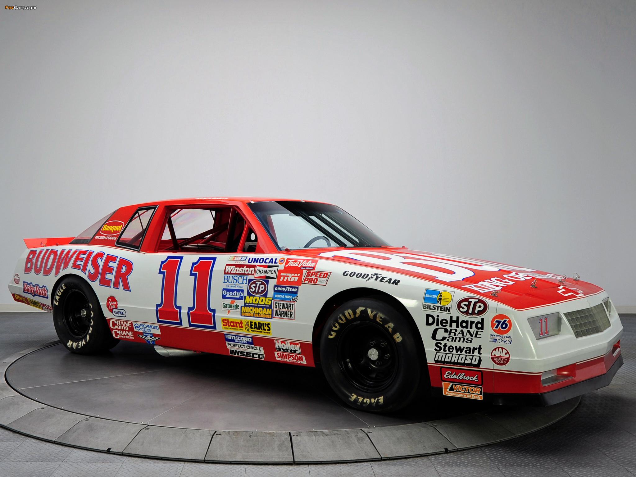 Chevrolet Monte Carlo SS NASCAR Race Car 1988 images (2048x1536)