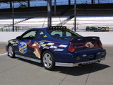 Chevrolet Monte Carlo Brickyard 400 Pace Car 2002 images