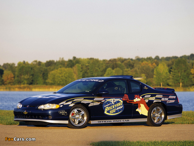 Chevrolet Monte Carlo Brickyard 400 Pace Car 2002 pictures (640 x 480)