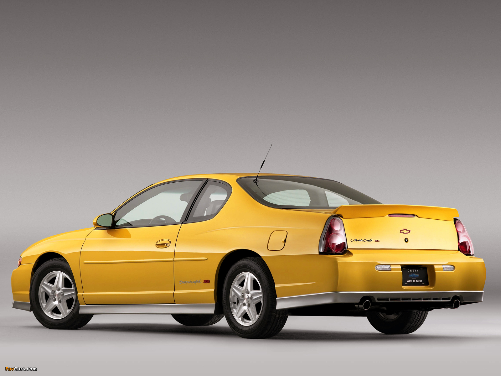 Chevrolet Monte Carlo Supercharged SS 2004–05 photos (1600 x 1200)