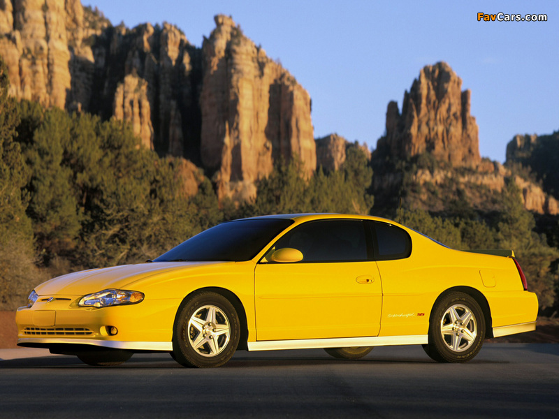 Chevrolet Monte Carlo Supercharged SS 2004–05 pictures (800 x 600)