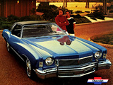 Chevrolet Monte Carlo Coupe 1973 wallpapers