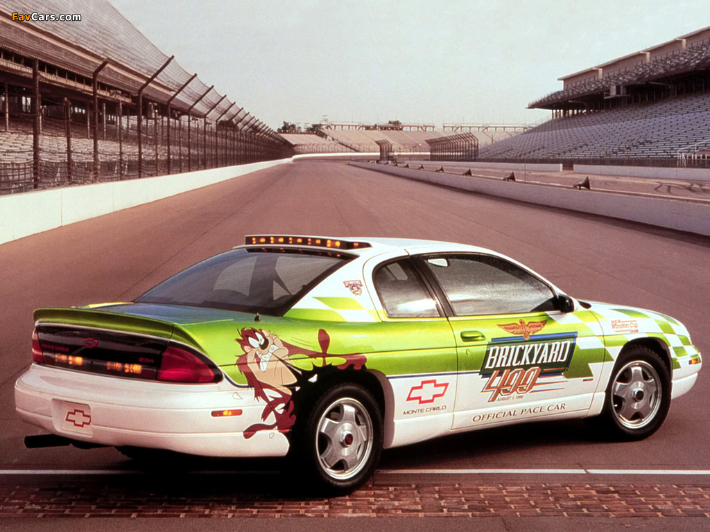 Chevrolet Monte Carlo Brickyard 400 Pace Car 1997 images (1024 x 768)