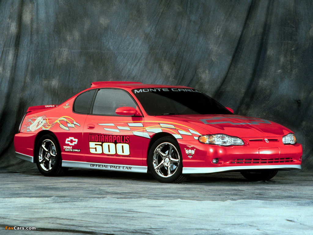 Car Monte Carlo >> Chevrolet Monte Carlo Indy 500 Pace Car 1999 pictures (1024x768)