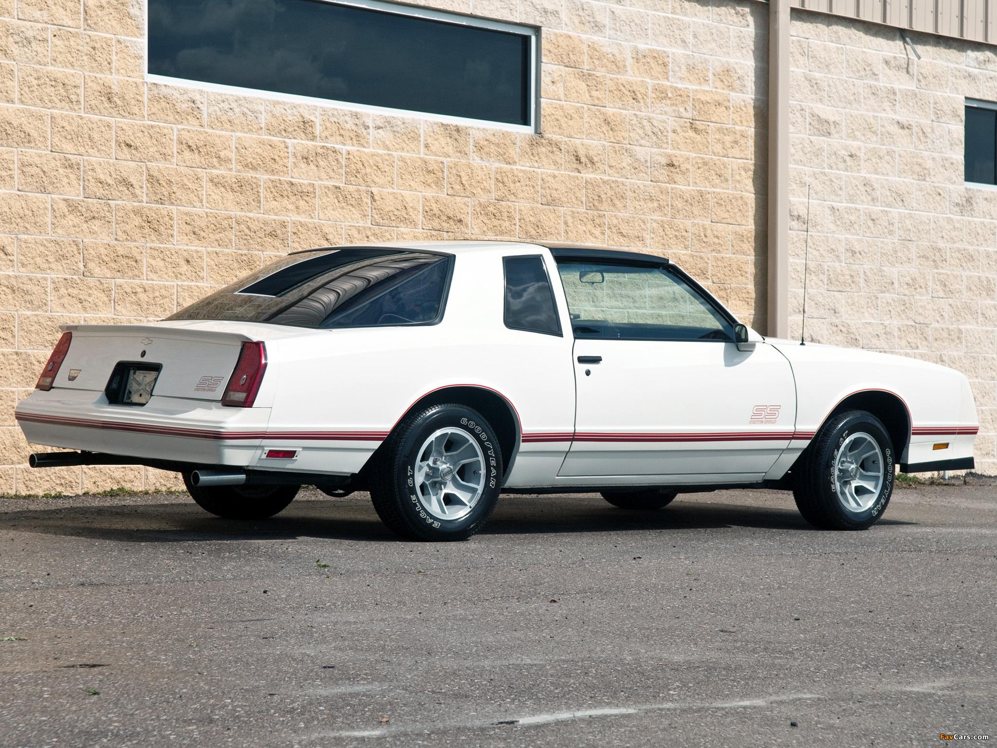 Monte Carlo Ss >> Photos of Chevrolet Monte Carlo SS Aerocoupe 1987 (2048x1536)