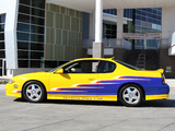 Photos of Chevrolet Monte Carlo SS NASCAR Nextel Cup Series Pace Car 2004