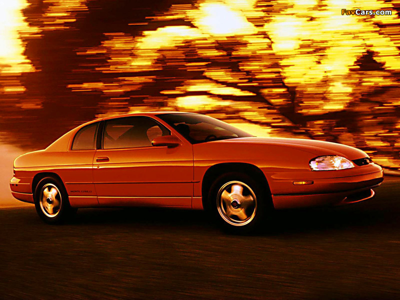 Pictures of Chevrolet Monte Carlo 1995–99 (800 x 600)