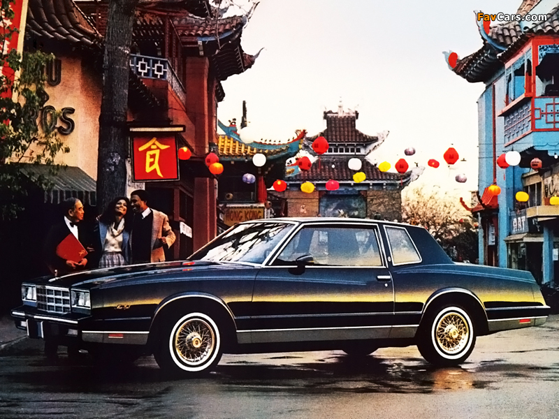 Pictures of Chevrolet Monte Carlo 1981–85 (800 x 600)