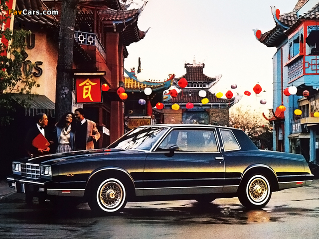 Pictures of Chevrolet Monte Carlo 1981–85 (640 x 480)
