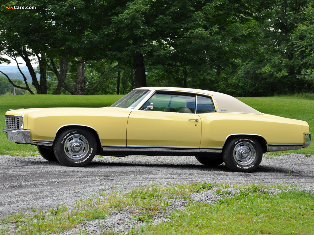 Chevrolet Monte Carlo 1972 wallpapers (1024 x 768)