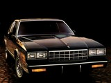 Chevrolet Monte Carlo T-Top 1981–85 wallpapers