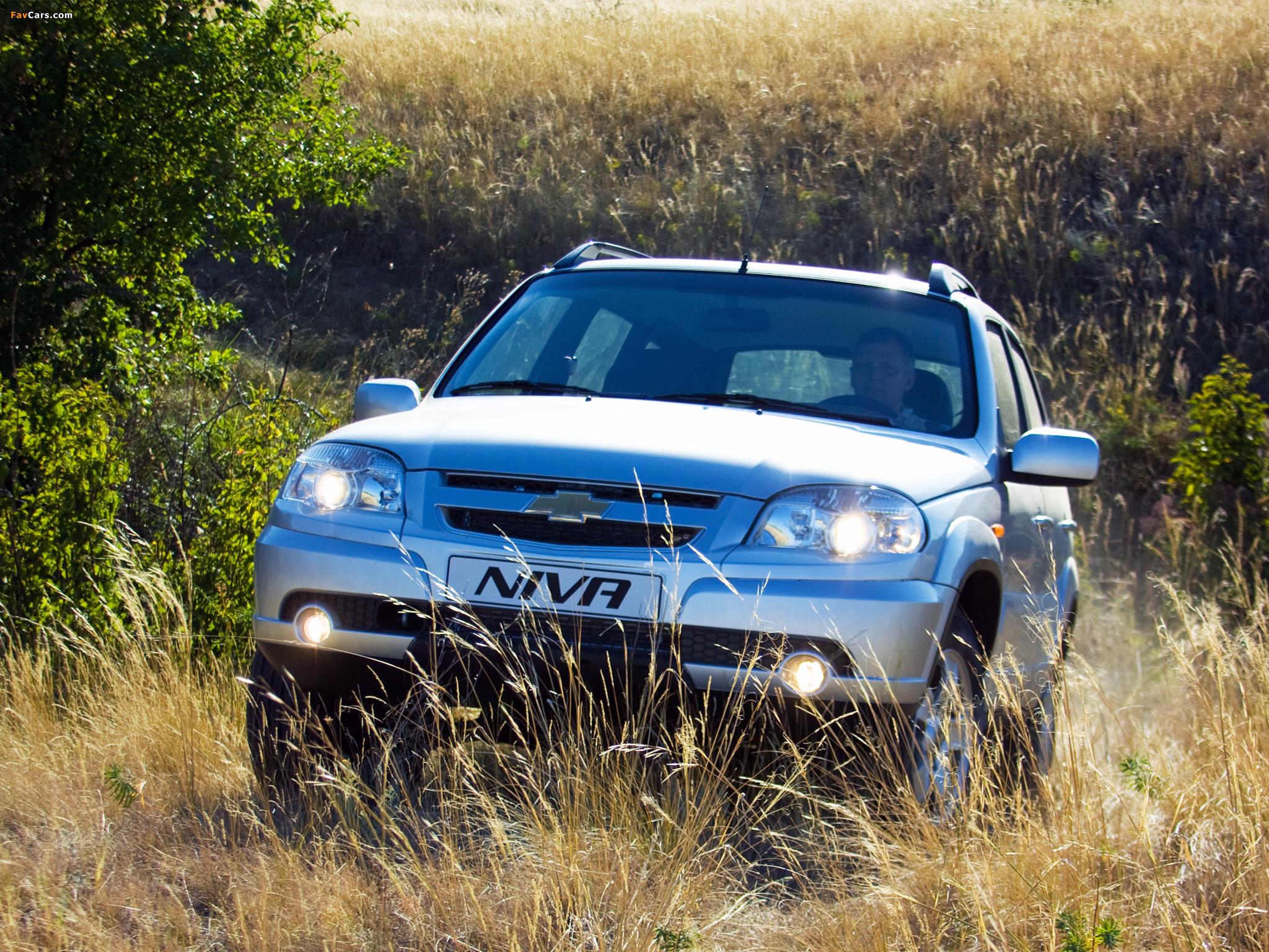 Chevrolet Niva 2009 wallpapers (2048 x 1536)