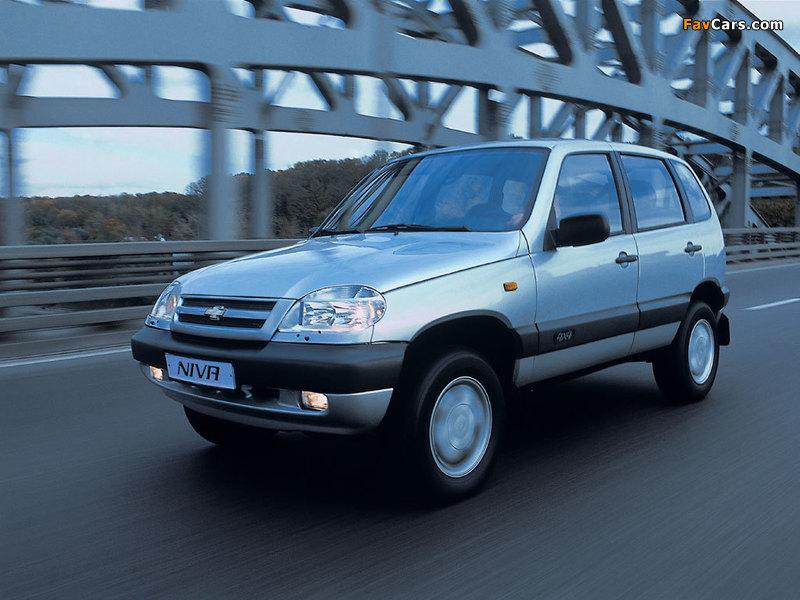 Chevrolet Niva 2002–09 wallpapers (800 x 600)