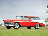 Chevrolet Bel Air Nomad (2429-1064DF) 1956 wallpapers