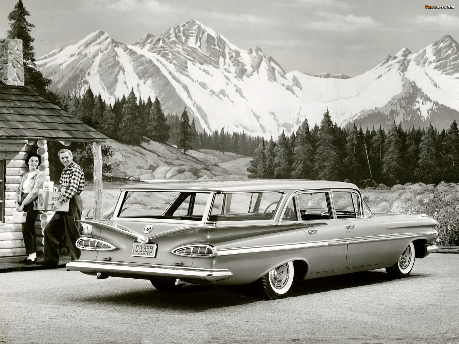Chevrolet Bel Air Nomad 1959 Pictures 1600x1200