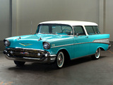 Pictures of Chevrolet Bel Air Nomad (2429-1064DF) 1957