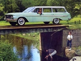 Chevrolet Nomad 1961 wallpapers