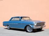 Chevrolet Nova SS Hardtop Coupe 1963 photos