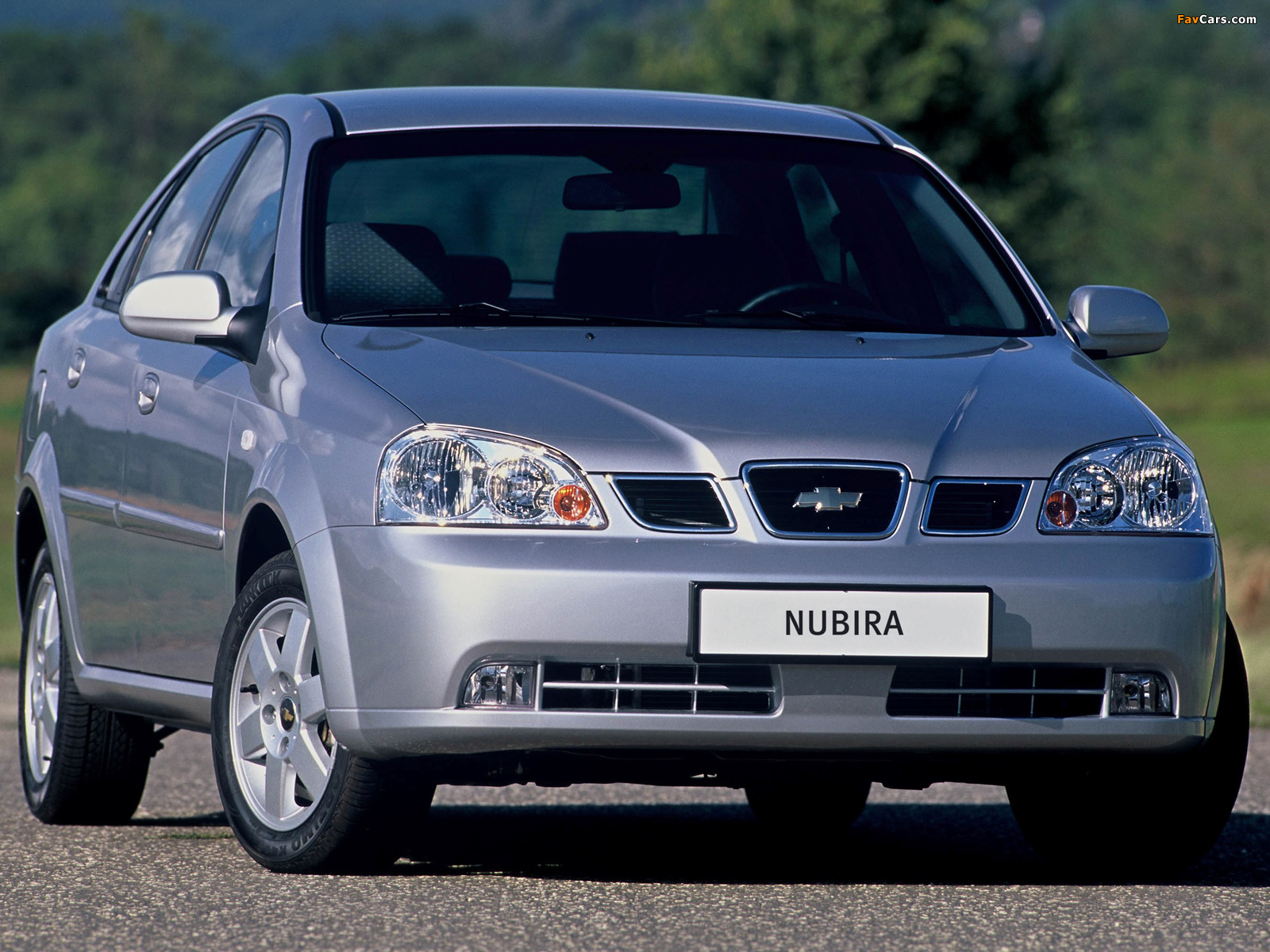 Images of Chevrolet Nubira Sedan 2003–04 (1600 x 1200)