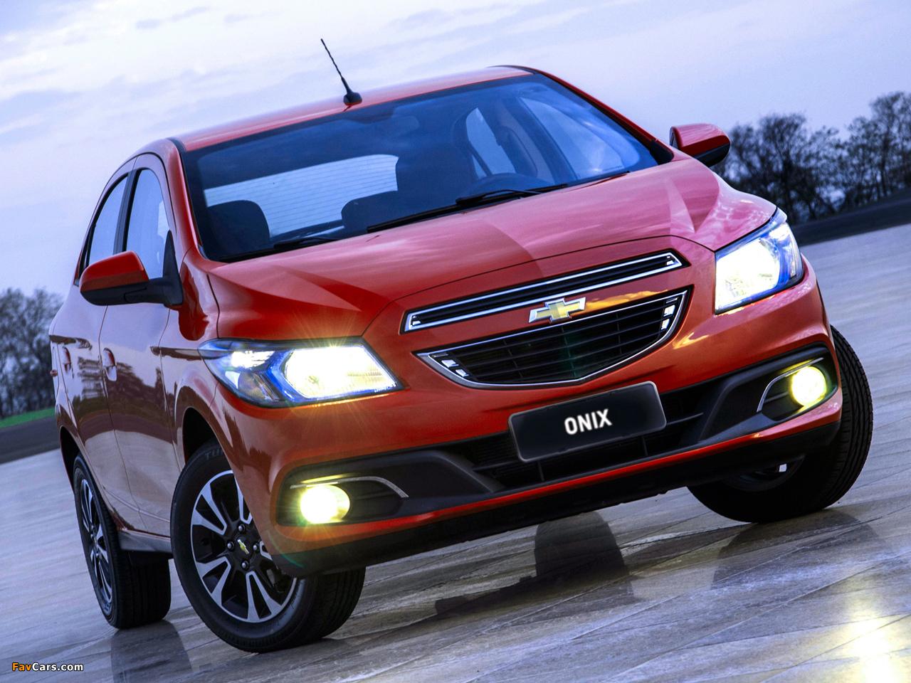 Chevrolet Onix 2012 photos (1280 x 960)