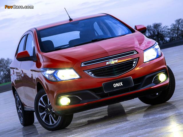 Chevrolet Onix 2012 photos (640 x 480)