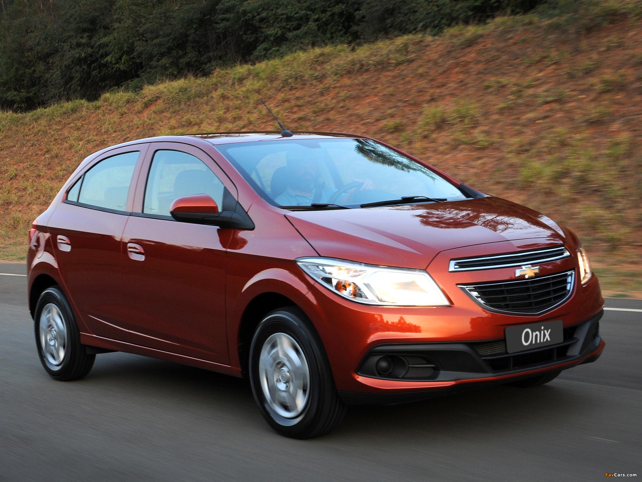 Chevrolet Onix 2012 photos (2048 x 1536)