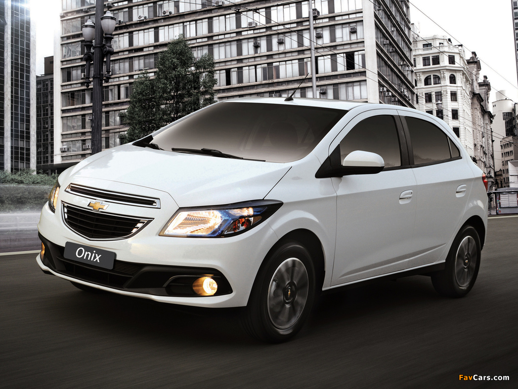 Chevrolet Onix 2012 pictures (1024 x 768)