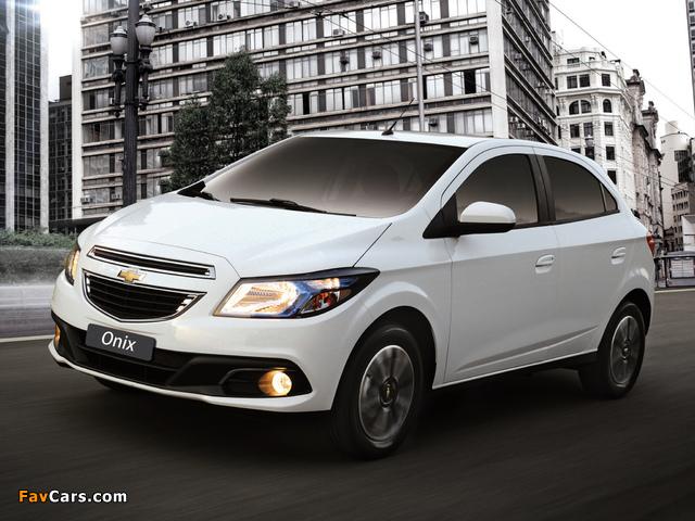Chevrolet Onix 2012 pictures (640 x 480)
