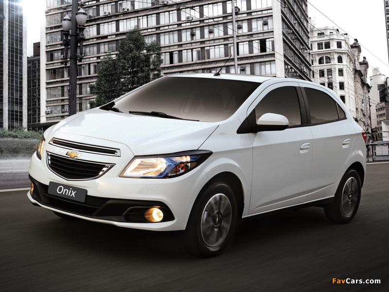 Chevrolet Onix 2012 pictures (800 x 600)