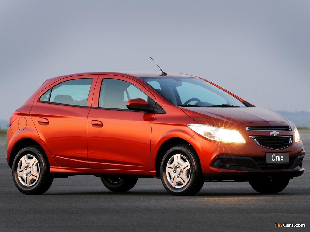 Photos of Chevrolet Onix 2012 (1024 x 768)