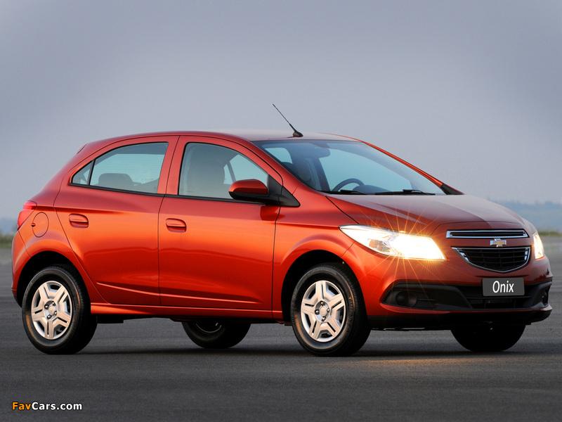 Photos of Chevrolet Onix 2012 (800 x 600)