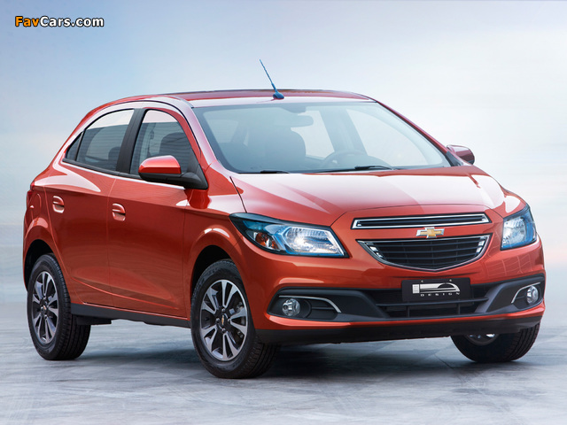 Pictures of Chevrolet Onix 2012 (640 x 480)