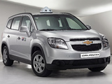 Chevrolet Orlando Taxi 2010 images