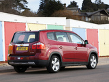 Chevrolet Orlando UK-spec 2010 photos