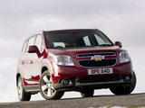 Chevrolet Orlando UK-spec 2010 pictures