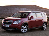 Chevrolet Orlando UK-spec 2010 wallpapers