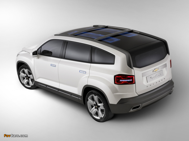 Images of Chevrolet Orlando Concept 2008 (800 x 600)