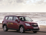 Images of Chevrolet Orlando UK-spec 2010