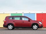 Photos of Chevrolet Orlando UK-spec 2010