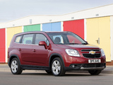 Photos of Chevrolet Orlando UK-spec 2010