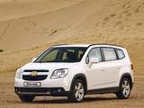 Photos of Chevrolet Orlando ZA-spec 2010