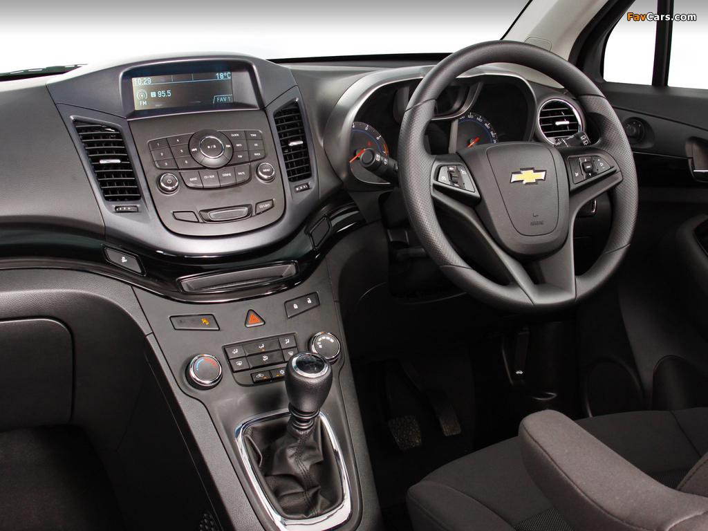 Pictures of Chevrolet Orlando ZA-spec 2010 (1024 x 768)