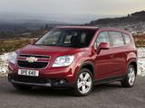 Chevrolet Orlando UK-spec 2010 wallpapers