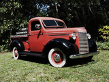 Pictures of Chevrolet Pickup Truck (JC) 1939