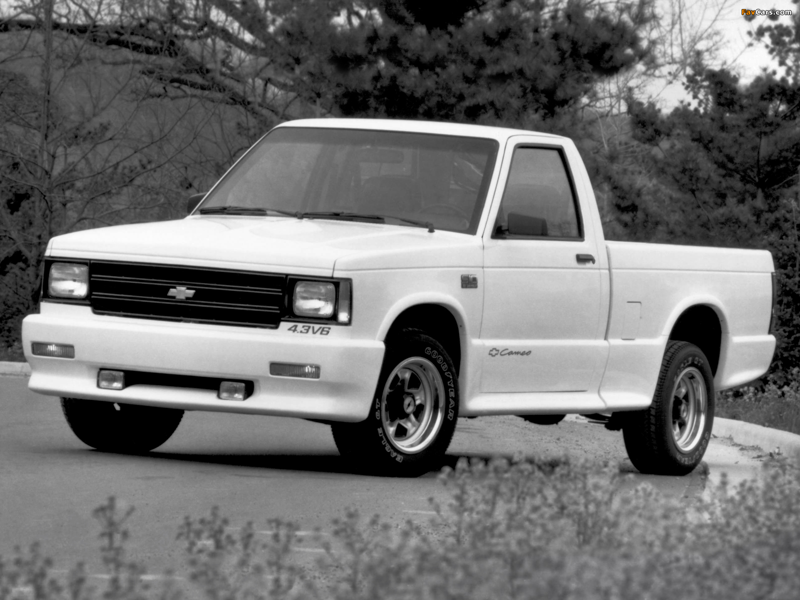 Chevrolet S 10 Cameo 1989 91 Images 1600x1200