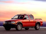 Chevrolet S-10 ZR5 Crew Cab 2001–04 wallpapers